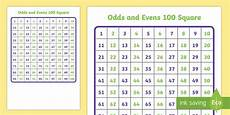 100 Square Pocket Chart 100 Square 1 100 Odds And Evens Number Square Hundred