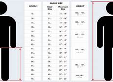 Bike Size Chart By Height Sizing And Choosing A Touring Bicycle Hubpages
