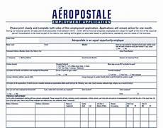 Pdf Job Application Aeropostale Application Pdf Print Out
