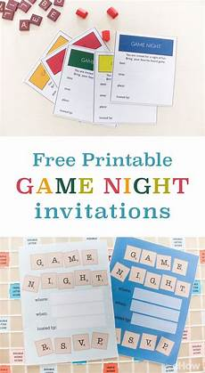 Game Night Invitation Template Game Night Invitations Creative Free Printables For You