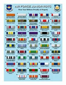 Army Ribbons Chart Us Military Us Military Ribbons