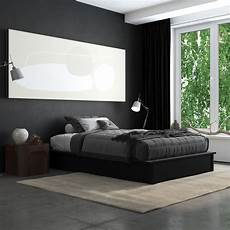 maven upholstered platform bed dhp furniture