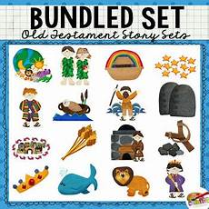 Printable Bible People Printable Interactive Old Testament Bible Story Bundle By