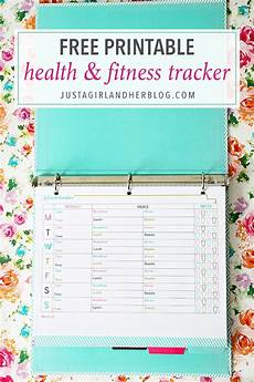 Printable Exercise Tracker Free Printable Fitness Tracker Abby Lawson