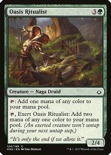 Oasis Hours Oasis Ritualist Hour Of Devastation The Card
