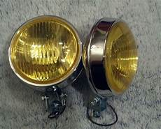 Amber Driving Lights Sell Bumper Mount Round Amber Chrome Fog Lights Chevy Mg