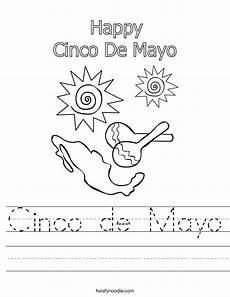 free printable cinco de mayo worksheets for kindergarten cinco de mayo worksheet twisty noodle