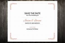 Save Word Template Sale Save The Date Template Wedding Save The Date Postcard