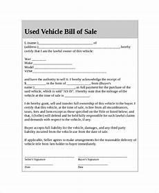 Free Car Bill Of Sale Pdf Car Bill Of Sale 5 Free Word Pdf Documents Download