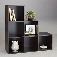 6 cube step storage unit contemporary storage solution