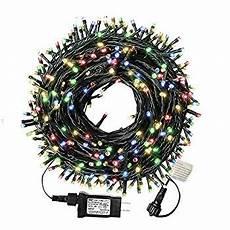 Led Christmas Lights End To End 105ft 300 Led Christmas String Lights End To End Plug 8