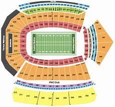 Cardinals Football Stadium Seating Chart Cardinal Stadium Seating Chart Amp Maps Louisville