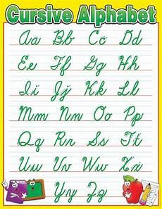 Chart Script Handwriting Chart Cursive Cursive Alphabet Chart