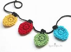 Crochet Christmas Lights Crochet Christmas Light Appliques Repeat Crafter Me