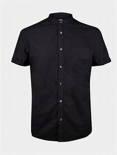 mens black dress shirts sleeve black sleeve grandad shirt mens shirts clothing