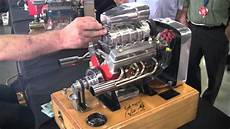 Sale Motor Miniature Running Supercharged V8 Engine Youtube