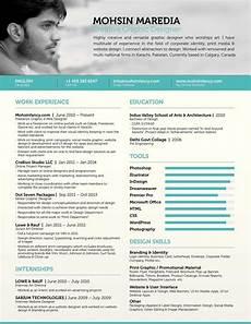 Resume Graphics Calam 233 O Freelance Graphic Amp Web Designer Resume Mohsin