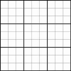 Sudoku Printable Grids Html Styling A Sudoku Grid Stack Overflow