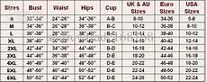 Crochet Bra Cup Size Chart Waist Size Chart Women Google Search Set