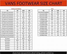Youth Shoe Size Chart Vs Women S Vans Size Chart Jpg 4228