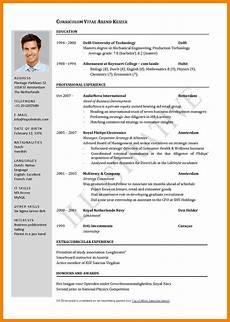 Standard Cv Format Doc International Standards Resume Format Sample Resume
