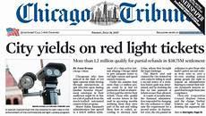 Red Light Ticket Settlement Chicago Is Not Broke News