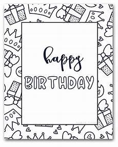 Ausmalbilder Geburtstag Ausdrucken Free Printable Happy Birthday Coloring Sheets Titus