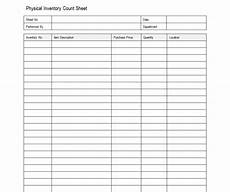 Sample Excel Sheet Sample Inventory Sheet Inventory Sheet Sample