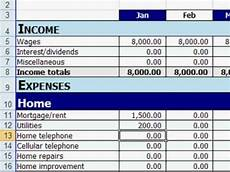 Personal Budget Spreadsheet Free Free Excel Personal Budget Template Youtube