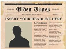 Newspaper Outline For Word Editable Powerpoint Newspapers