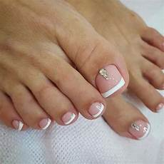 French Tip Toe Designs 21 Elegant Toe Nail Designs For Spring And Summer Stayglam