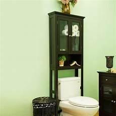 glitzhome bathroom wooden the toilet storage cabinet
