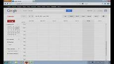 Calendar In Microsoft Excel How To Export Excel To Google Calendar Youtube