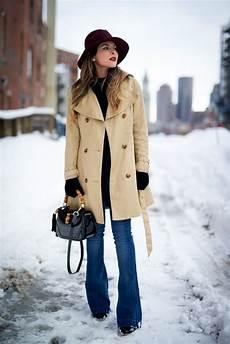 trench coat winter fashion