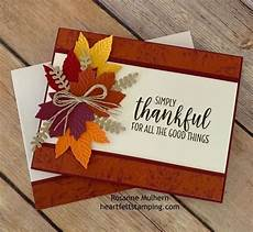 Thanksgiving Cards 2020 Pin By Teri Wood On Cricut Stampin Up In 2020 Fall Cards
