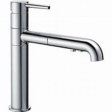 Delta Pull Kitchen Faucet Delta Trinsic 174 Single Handle Pull Out Kitchen Faucet
