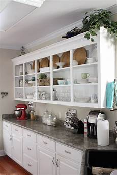 kitchens with open shelves sortrachen