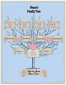 Family Tree Templates Online Free Family Tree Template Customize Online Then Print