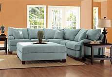 Blue Sectional Sofa 3d Image by Blue Sectionals Klaussner Sectional Sofa In Sky