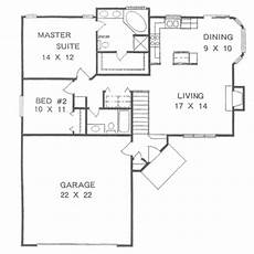 small ranch house plan two ranch style house plan 2 beds 2 baths 1076 sq ft plan