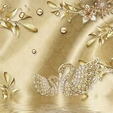 Flower Decoration Ke Wallpaper by Custom Mural Wallpaper For Bedroom Walls 3d Luxury Gold