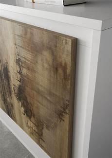 mobile contenitore bianco opaco anta effetto legno antico