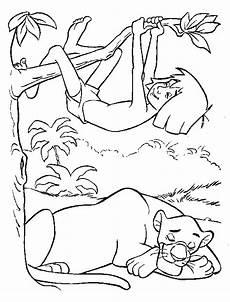 malvorlagen dschungelbuch 02 disney kleurplaten