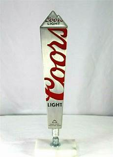 Coors Light Tap Coors Light Silver Made With Recycled Cans Tap Handle