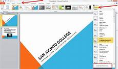 Concourse Theme Powerpoint Applying And Modifying Themes In Powerpoint 2010