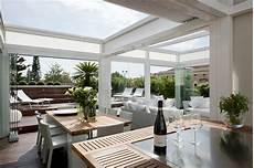 veranda per terrazzo una veranda per il terrazzo e anche in inverno
