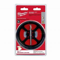 Saw Blade Light Milwaukee 6 3 8 In Recessed Light Hole Saw 49 56 0305
