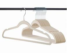 hangers for clothes 50 pack clothes hangers velvet hangers ivory clothes