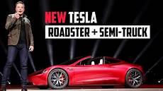 2020 tesla semi new tesla roadster tesla 2020 presentation highlights