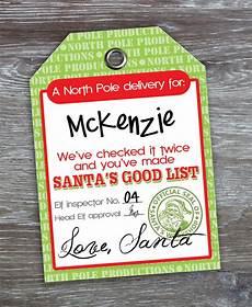Santa Tag God Bless Our Nest Free Printable Love Santa Tags